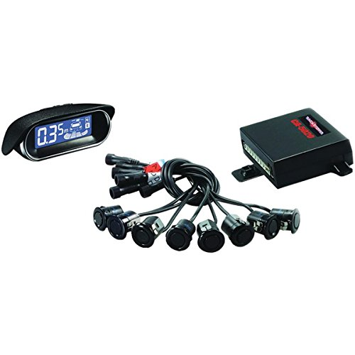 CrimeStopper Ca-5020.matt.2 Front/Rear Parking Assist System with LCD Screen and Matte Sensors