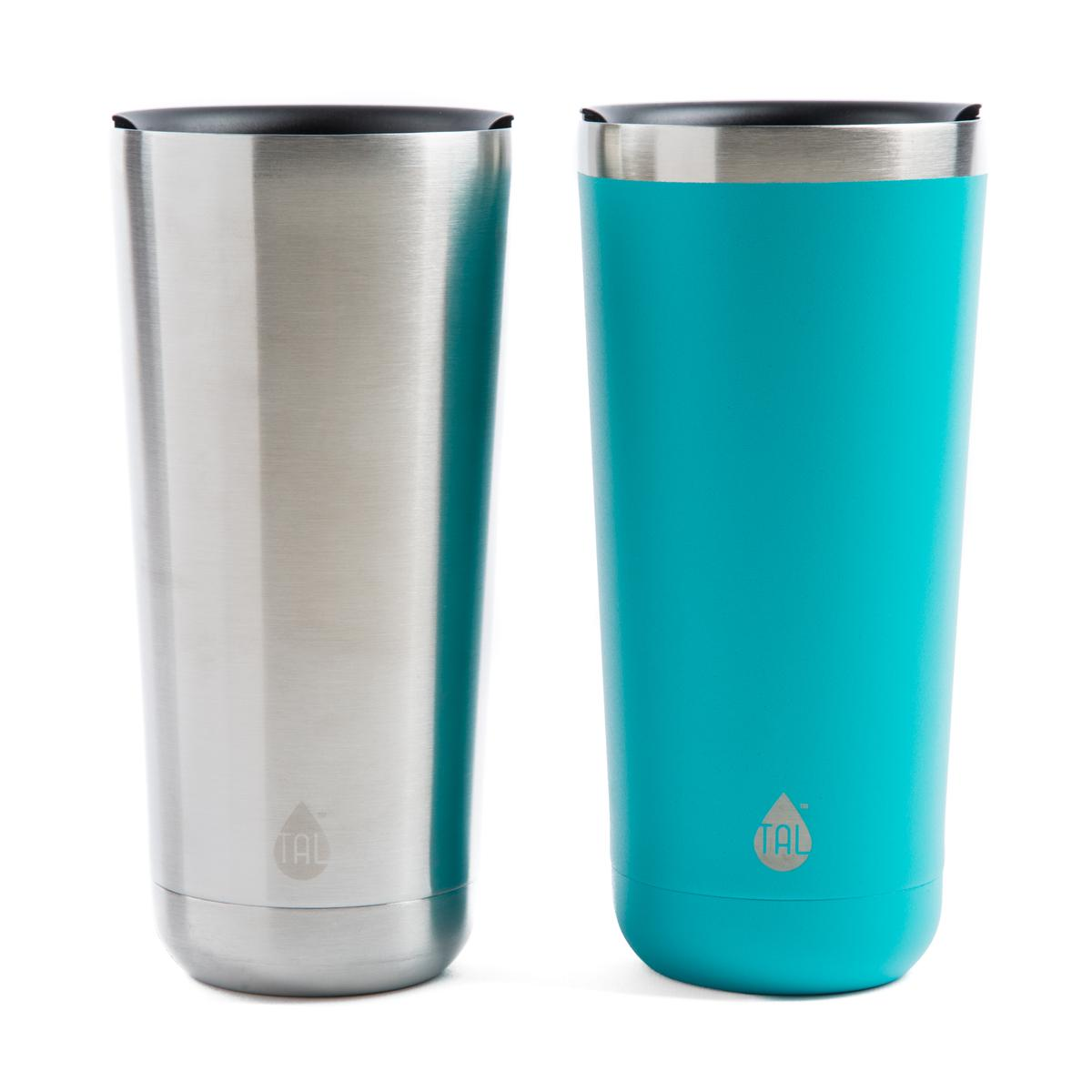Tal 22 Ounce XL Teal Stainless Steel Double Wall Vacuum Insulated Ranger Pint, 1 Each