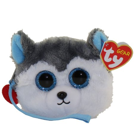 TY Gear Wristlet - SLUSH the Husky Dog (5 inch)