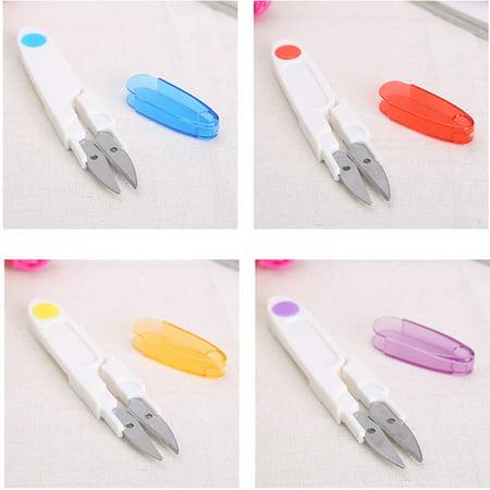 - Home Mini Cross-stitch Embroidery Clipper Snip Thread Cutter Scissor +Safe Cover
