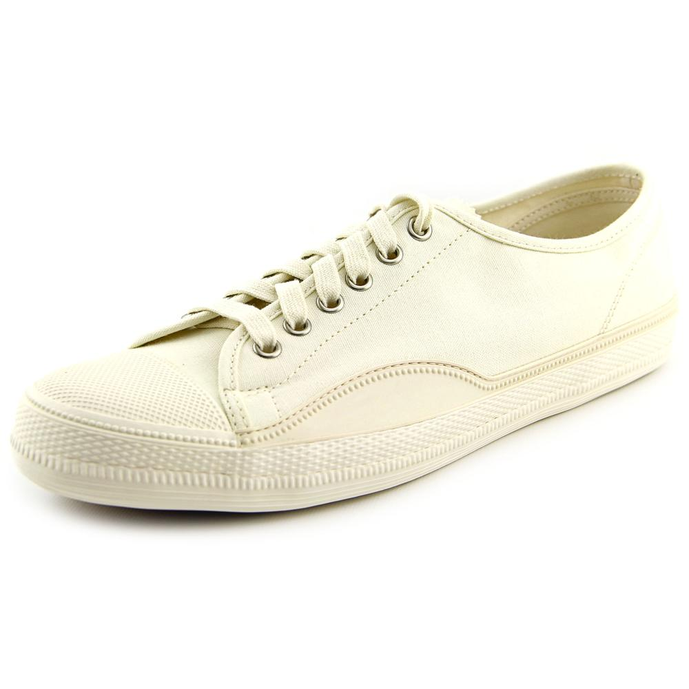 Tretorn Racket H Low Men Round Toe Canvas White Sneakers by Tretorn