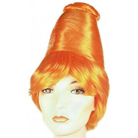 Lacey Wigs LW13BK Beehive Better Bargain Black Wig Costume - Beehive Wig Black