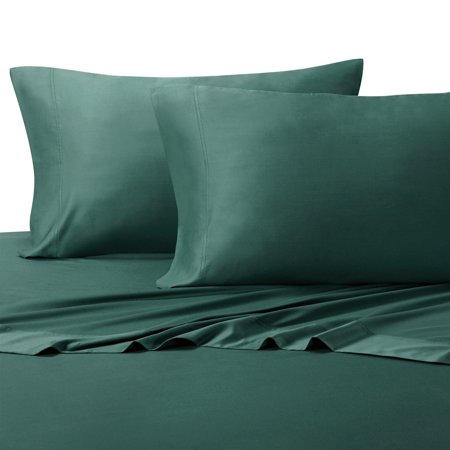 Super Soft Deep Pocket Bamboo Sheets Cotton Blended 300tc By Royal Tradition Split King Teal