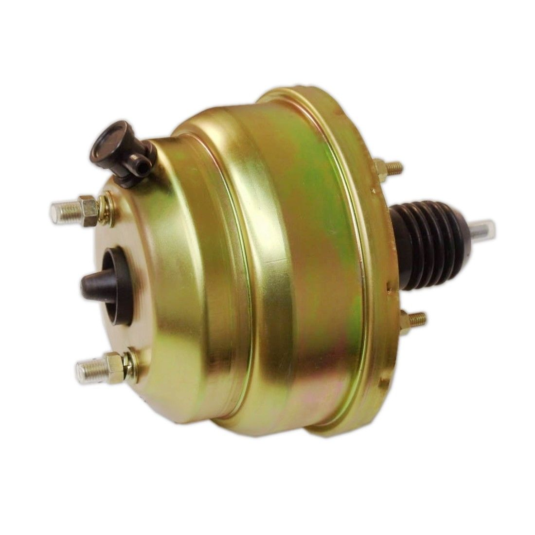 "Bail Top Master Cylinder Street Rod 7/"" Dual Zinc Universal Power Brake Booster"