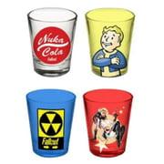 Fallout Set of 4 Shot Glasses by Shot Glasses
