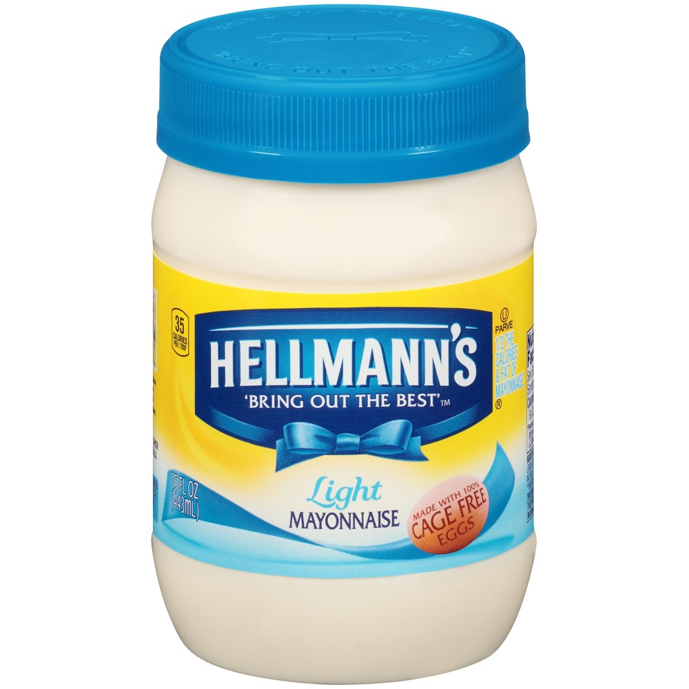 Hellmann's Mayonnaise Light, 15 oz