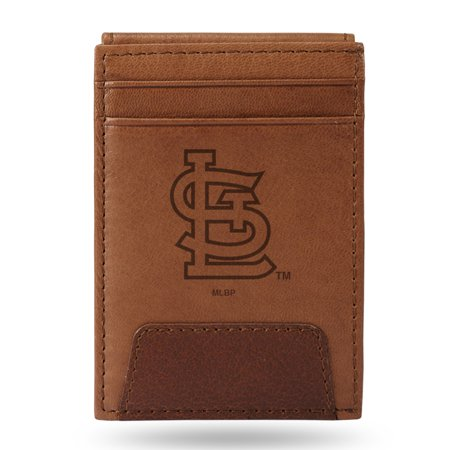 - St. Louis Cardinals Sparo Leather Front Pocket Wallet - No Size