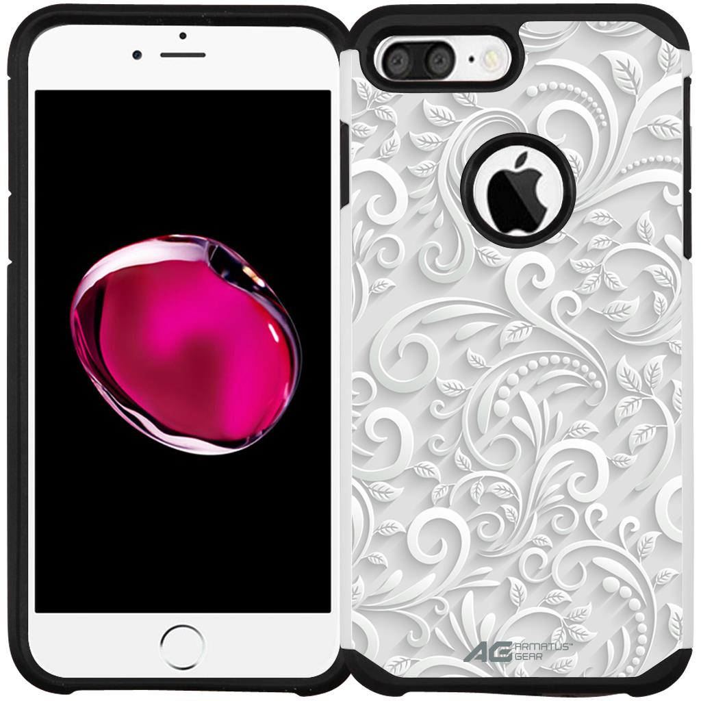 iPhone 7 PLUS Case - Armatus Gear (TM) Slim Hybrid Armor Case Protective Phone Cover for Apple iPhone 7 Plus (2016)