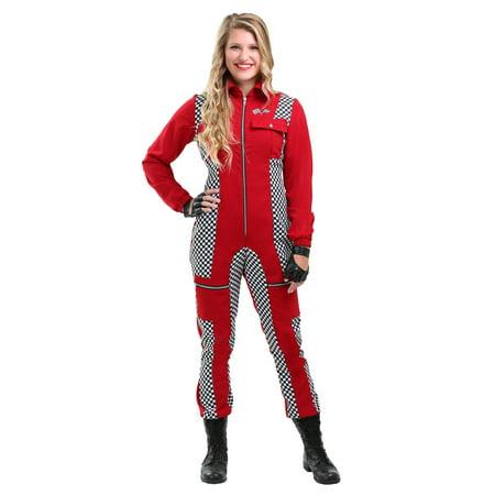 Racer Halloween Costumes (Racer Jumpsuit Womens Costume)