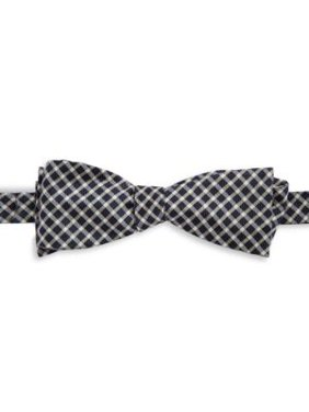 Silk Patterned Bow Tie