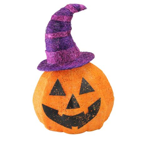 The Holiday Aisle Sisal Jack-o'-Lantern Halloween Decoration Light - Creative Lighting Displays Halloween
