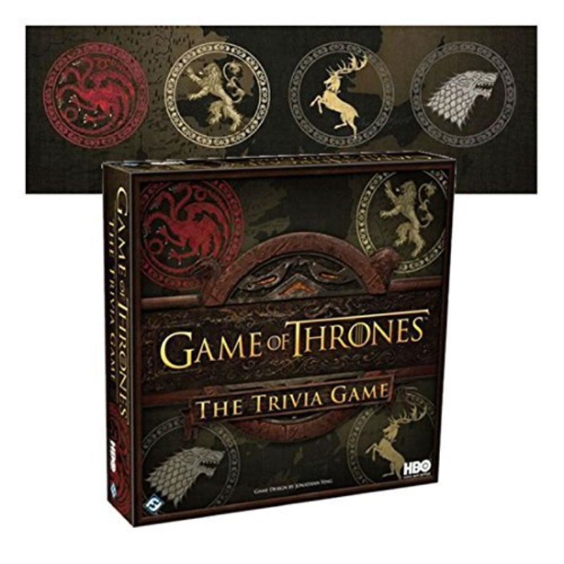 New Game of Thrones The Trivia Board Game Westeros HBO Ed TV Strategy Fun CHOP Xmas Gift by
