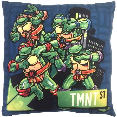 Teenage Mutant Ninja Turtles Decorative Pillow - Walmart.com