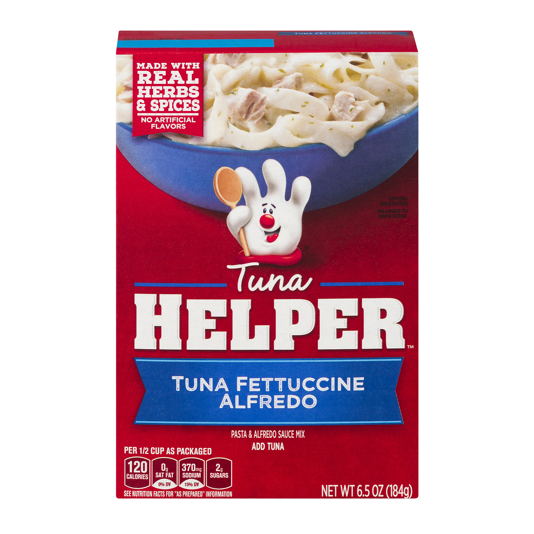 Betty Crocker Tuna Helper Tuna Fettuccine Alfredo 6.5 oz Box