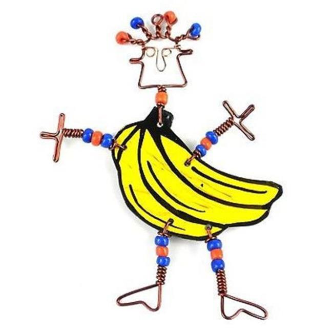 Creative Alternatives Dancing Girl Go Bananas Pin