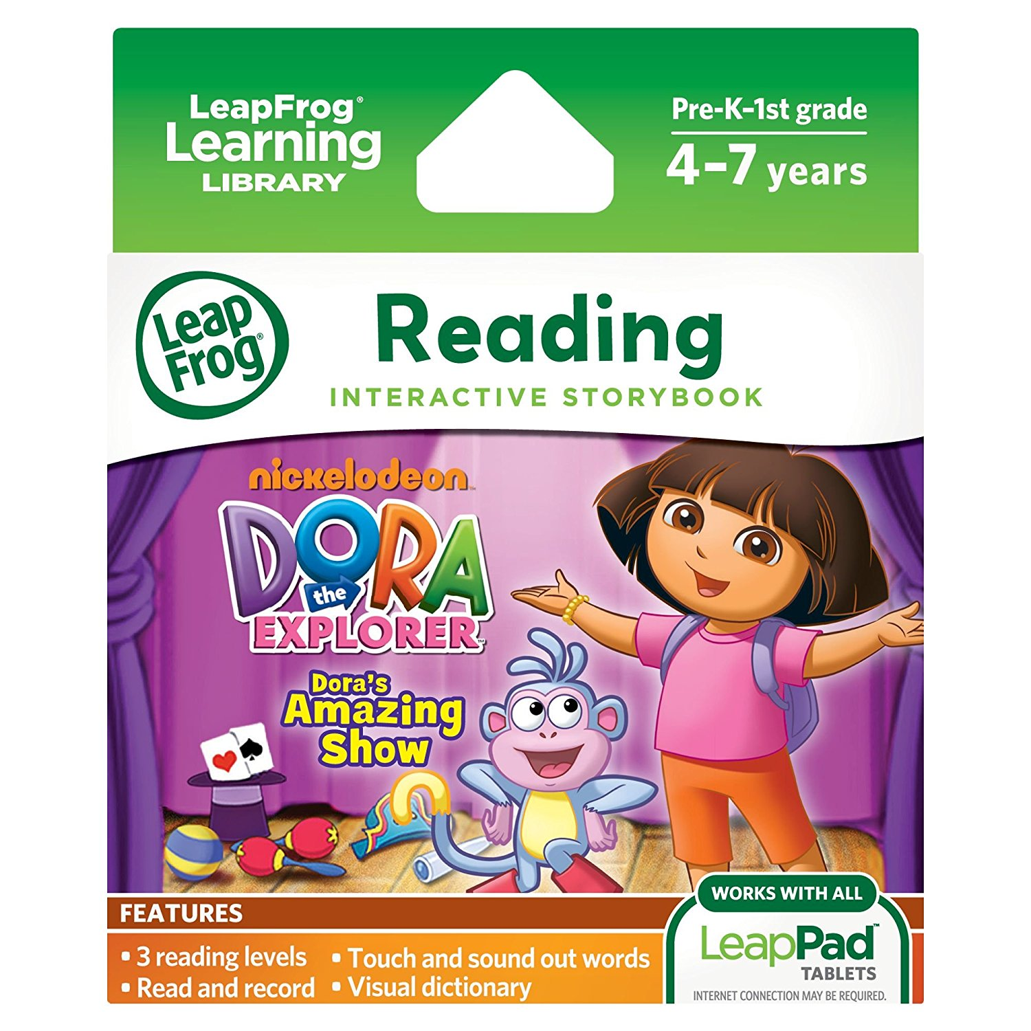LeapPad Dora's Amazing Show Ultra eBook (works with all LeapPad tablets)The story is... by