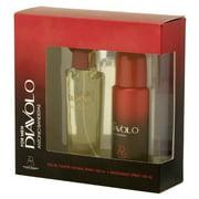 Antonio Banderas Diavolo Gift Set for Men 3.4 oz EDT Spray and 5.0 oz Deodorant Spray