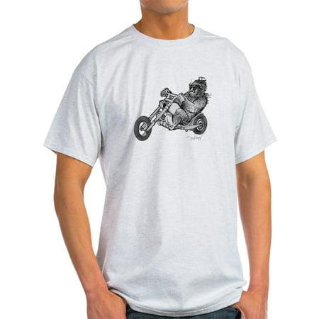 CafePress - Bigfoot Easy Rider T-Shirt - Light T-Shirt - CP Easy Rider Crop