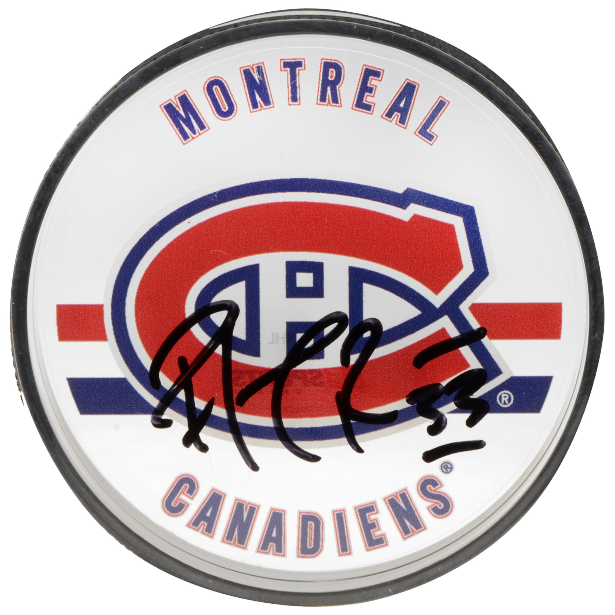 Patrick Roy Montreal Canadiens Autographed Acrylic Hockey Puck- Upper Deck - Fanatics Authentic Certified