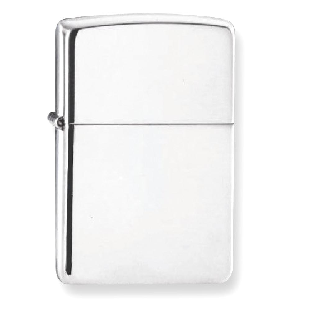 IceCarats Zippo High Polish 925 Sterling Silver Lighter