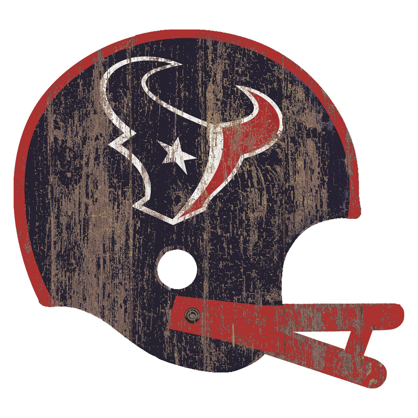 Fan Creations NFL Distressed Helmet Cutout Wall Art