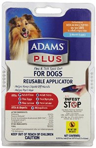 Adams Plus Flea and Tick Control for Dogs Multi-Colored by Adams
