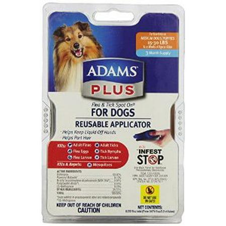 Adams Plus Flea And Tick Control For Dogs Multi Colored