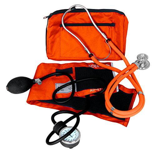 Dixie Ems Blood Pressure and Sprague Stethoscope Kit, Orange NEW FREE SHIPPING