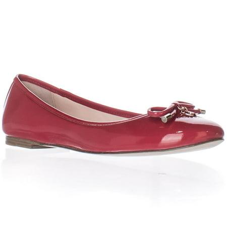 a2ed177e2e Kate Spade New York - Womens Kate Spade New York Willa Ballet Flats -  Maraschino Red Patent - Walmart.com