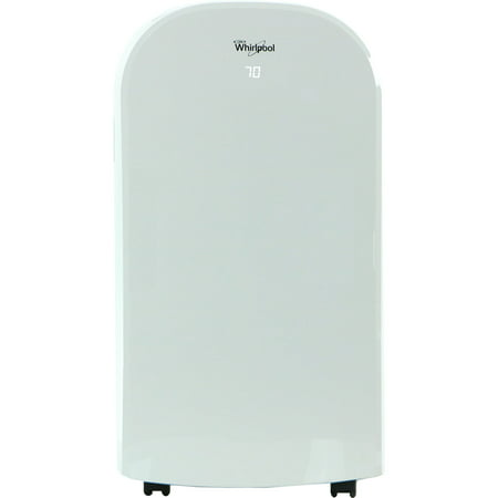 Whirlpool 13,000 BTU Portable Air Conditioner with 11,000 BTU Supplemental Heat and Remote Control in White