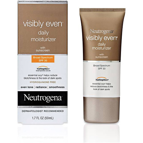 Neutrogena Daily Moisturizer, SPF 30 Visibly Even, 1.7 fl oz