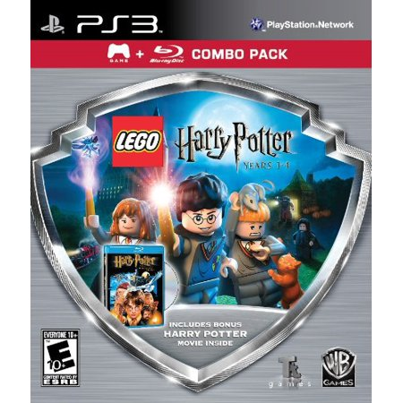 Eidos Lego Harry Potter:1-4 Game/hp Sorcerers Bluray Combo