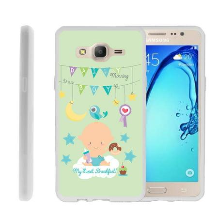Samsung Galaxy On5 G550, Flexible Case [FLEX FORCE] Slim Durable  Sleek Bumper with Unique Designs - My Sweat Breakfast for $<!---->