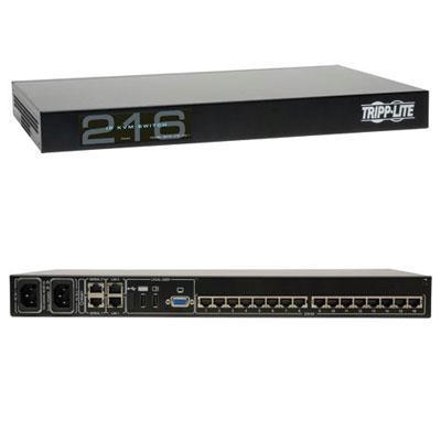 Tripp Lite 16 Port CAT5 Kvm IP Switch by Tripp Lite