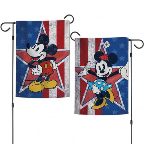 NWT DISNEY MICKEY TONIGHT IS FRIGHT NIGHT GARDEN FLAG 12 X 18 RARE
