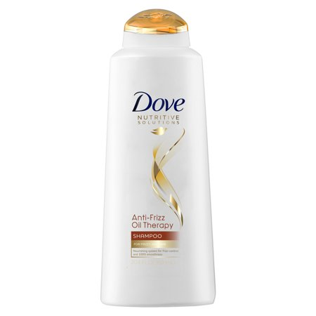 Dove Nutritive Solutions Anti-Frizz Oil Therapy Shampoo, 20.4 oz (Anti Frizz Dry Hair Shampoo)