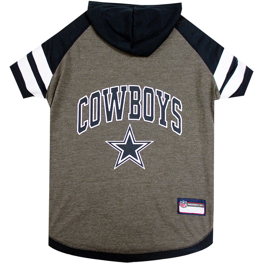 Pets First NFL Dallas Cowboys Pet Hoodie Tee Shirt