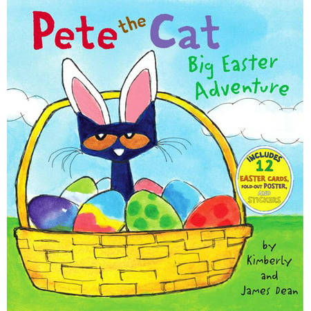 Pete the Cat: Big Easter Adventure (Dollar Eraser)