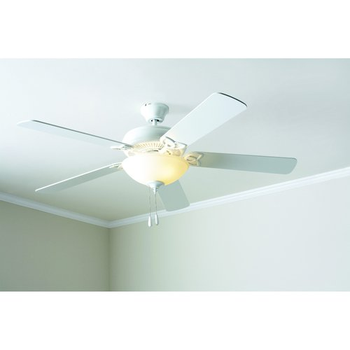 "Mainstays 52"" Ceiling Fan with Light Kit, White  17812"