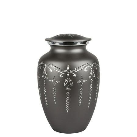 Perfect Memorials Medium Fancy Flourish Cremation (Picture Perfect Pet Urn)