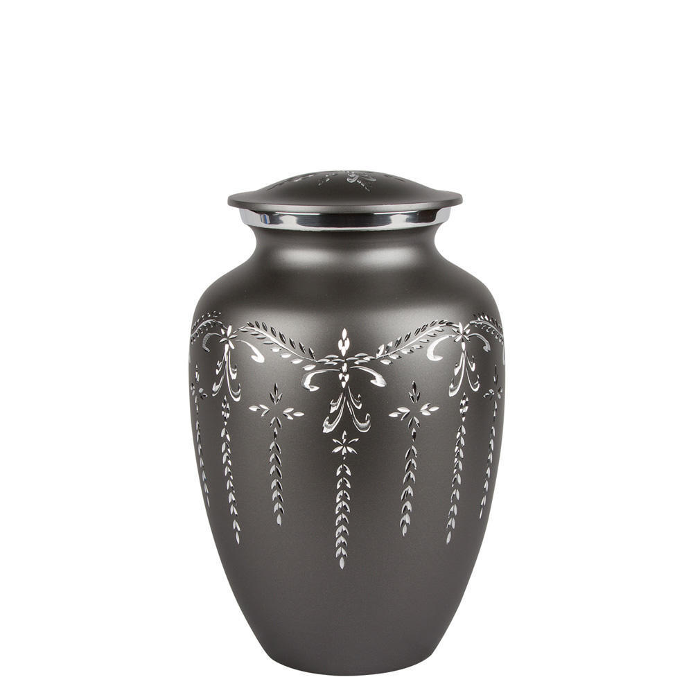 Perfect Memorials Medium Fancy Flourish Cremation Urn
