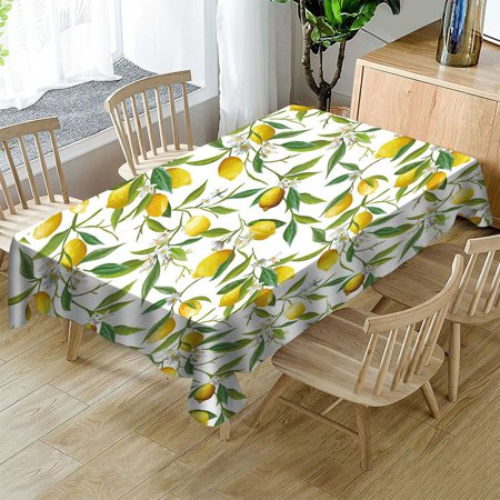 VENSE LY1212010214 Printing Waterproof/oil-proof Rectangular Table Cloth Table Cover - image 1 of 5