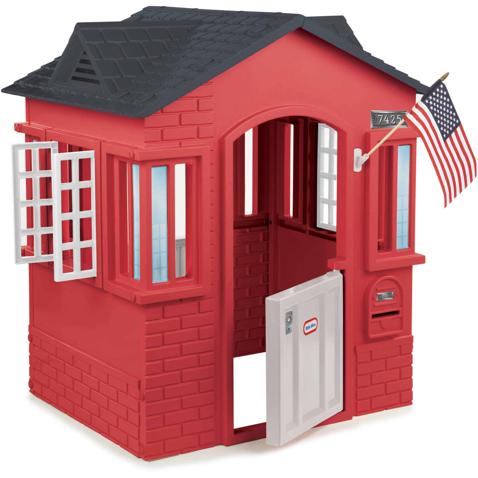 Little Tikes Cape Cottage Playhouse, Red by MGA Entertainment