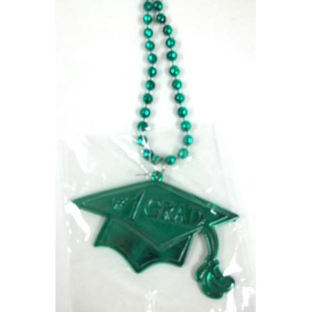 Green #1 Grad Cap And Tassel Graduation Double Sided Mardi Gras Disco Ball Bead](Mardi Gras Ball Gowns)