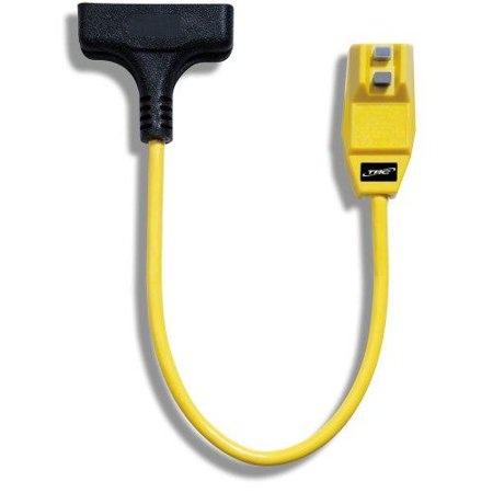 Gfci Right Angle (trc 14880023-6 12/3-gauge shockshield gfci protected right angle plug tri-cord with 3-outlets, 2-feet, 15-amp, yellow)
