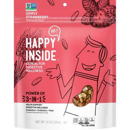 Happy Inside Strawberry Breakfast Cereal - 10oz - Kelloggs