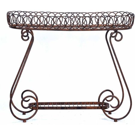 Deer Park Ironworks Oval Ring Planter Deer Park Deer Planter