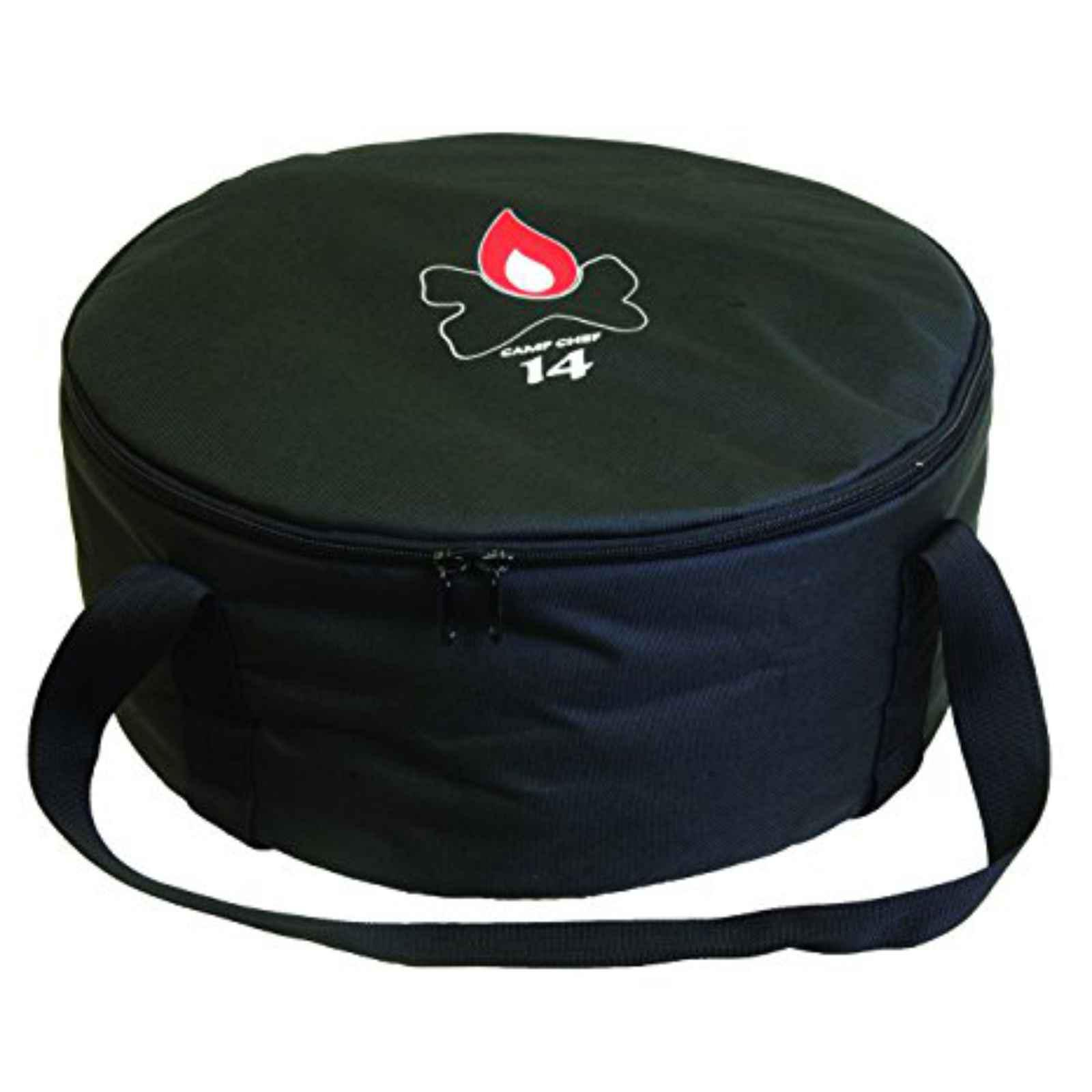 "Camp Chef 12"" Padded Dutch Oven Carry Bag with Ties Down Straps"