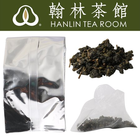 Hanlin Grade Strawberry Flavor Black Tea Loose Leaf Triangle 30pc Tea Bags 3.17 oz 90g