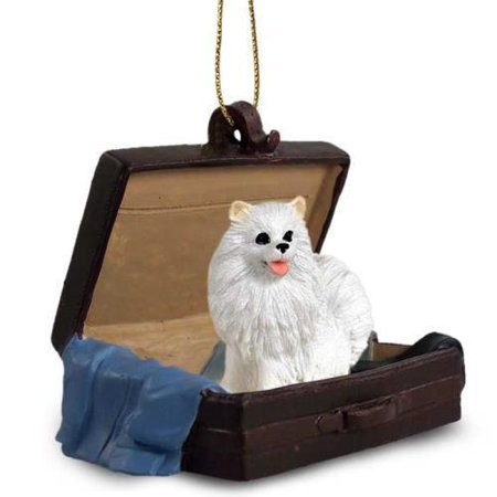 American Eskimo Miniature Traveling Companion Ornament